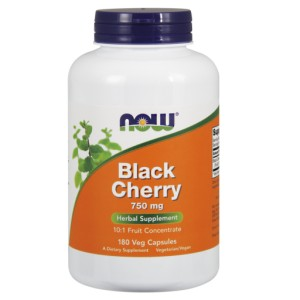 Black Cherry Fruit, 750mg - 180 vcaps NOWFOODS