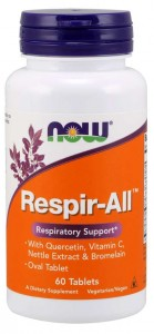 Respir-All 60tb Nowfoods