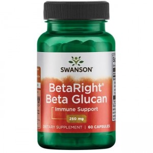 BetaRight Beta Glucans 250mg 60kaps Swanson