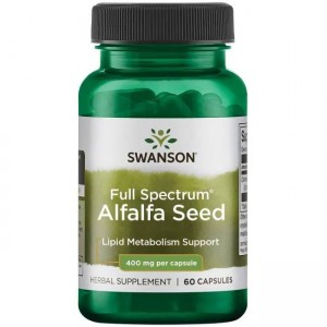 Full Spectrum Alfalfa 400mg 60kaps Swanson