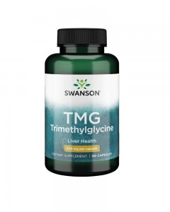 TMG (Trimethylglycine), 1000mg - 90 caps Swanson