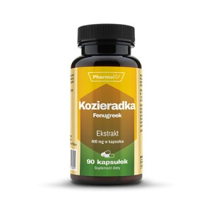 Kozieradka Fenugreek 400mg 90kp Pharmovit