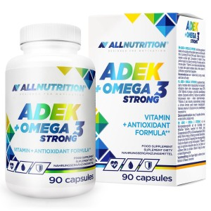 ALLnutrition ADEK+Omega3 Strong, 60 kap