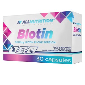 ALLnutrition Biotin 5mg 30 kap