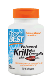 Enhanced Krill with Omega3s - 60 softgels DrBest