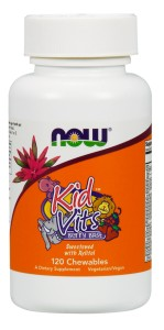 KID VITS 120 tabletek do ssania Nowfoods