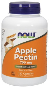 Apple Pectin 700 mg - 120 kapsułek Nowfoods