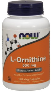 Ornityna 500mg 120kaps Nowfoods