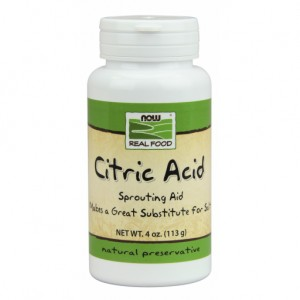 Citric Acid - 113g NOWFOODS