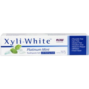 Xyliwhite Platinum Mint Toothpaste Gel z Baking Soda 181g Nowfoods