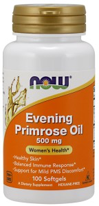 Evening Primrose Oil 500 mg -100 Softgels Nowfoods