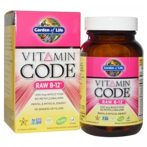 Garden of Life Vitamin Code RAW B-12 30kp