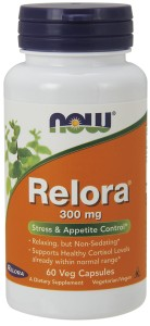 Relora, 300mg - 60 vcaps Nowfoods