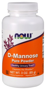 D-Mannose, Pure Powder - 85 grams Nowfoods