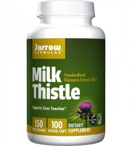 JARROW Milk Thistle 150mg 100vkaps