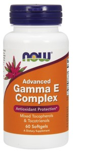 Advanced Gamma E Complex - 60 Softgels Nowfoods
