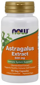 Astragalus 500 mg - 90 Vcaps Nowfoods