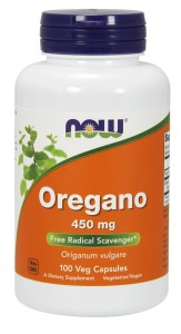 Oregano 450 mg - 100 Caps Nowfoods