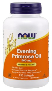 Evening Primrose Oil 500 mg -250 Softgels Nowfoods