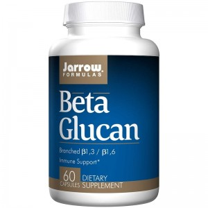 Jarrow Formulas, Beta Glucan, Immune Support, 60kaps