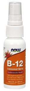 Witamina B-12 Liposomalna Spray 59ml Nowfoods