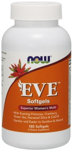 EVE 180 softgels Nowfoods