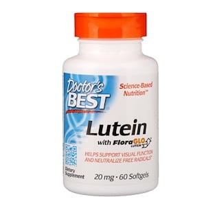 Lutein with FloraGLO, 20mg - 60 softgels DrBest