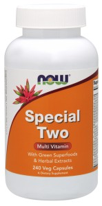 Special Two Multiple Vitamin - 240 Vcap Nowfoods
