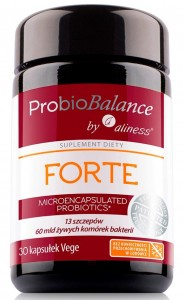 ProbioBALANCE, FORTE  60 mld. x 30 vege caps Aliness