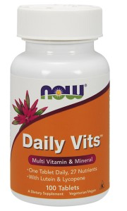 Daily Vits Vitamin - 100 Tabs Nowfoods