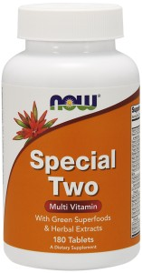 Special Two 1500mg 180tabl Nowfoods