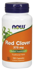 Red Clover 375mg 100kaps Nowfoods