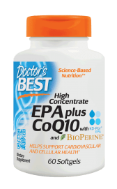 High Concentrate EPA Plus CoQ10 with KD-Pur - 60 softgels