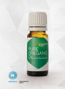 Pure Oregano Oil 10 ml HEPATICA